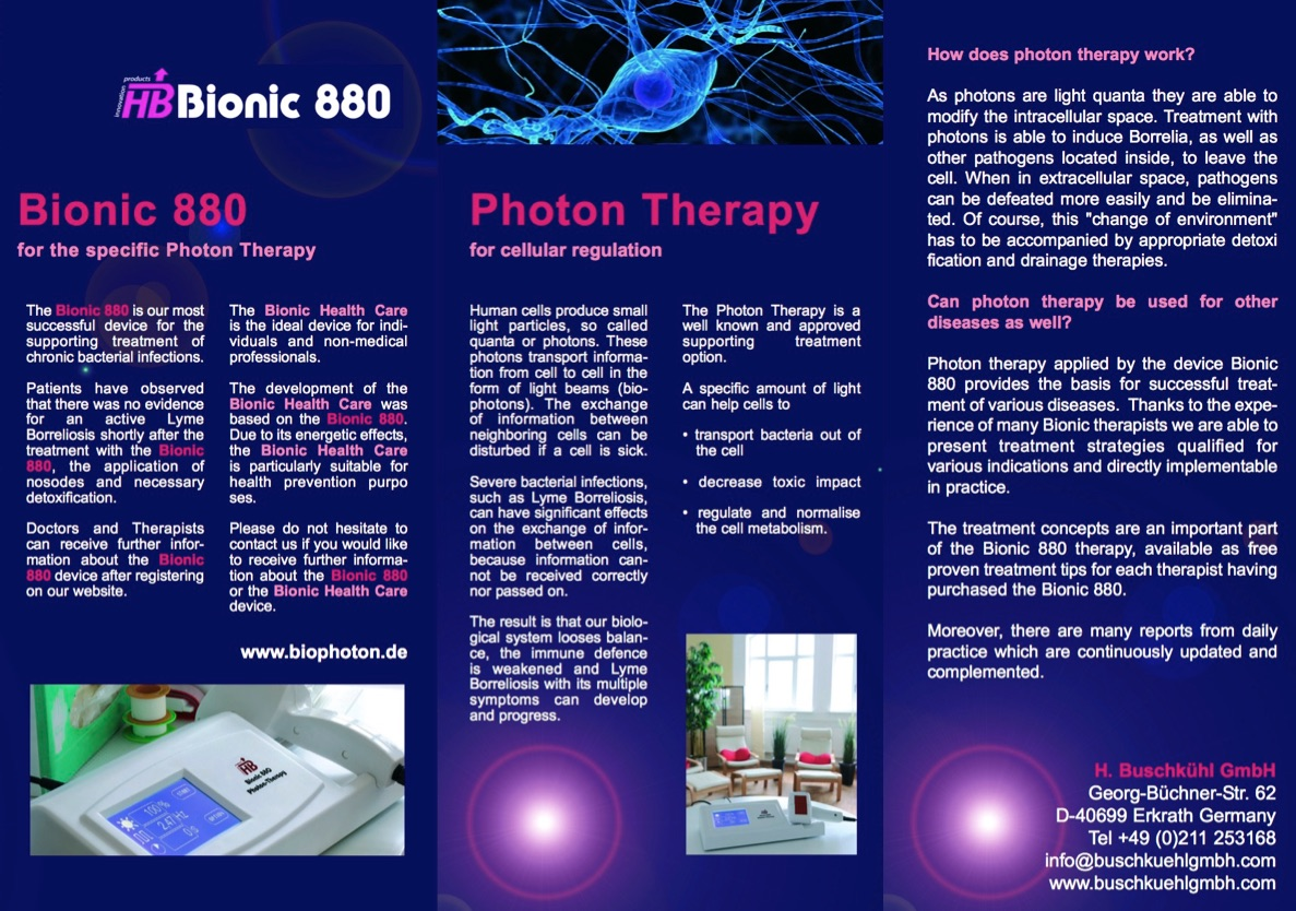 Bionic 880 - Photon Therapy
