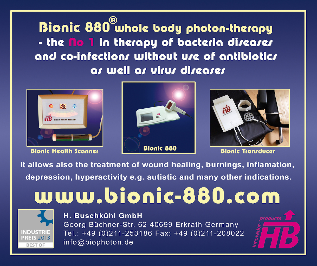 Bionic 880 -Photon-Therapy range